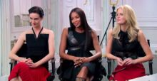The Face UK with Naomi Campbell, Caroline Winberg and Erin O'Connor - Photo Gallery [UPDATED]