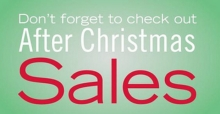 Take advantage of after Christmas sales this 2013 in New York