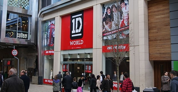 One direction clothing store