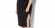 Plus size split skirts