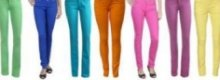 Coloured jeans are the latest denim delight!