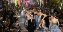 Christian Dior 2014 Spring and Summer collection at Paris Fashion Week