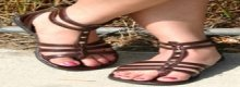 Let's take a look at gladiator sandal shoes