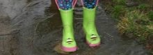 Some great ladies wellington boots size 6
