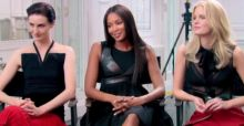 Naomi Campbell outshines in style and fashion wannabe models on The Face