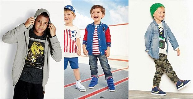 This season's clothing range for boys features the biggest trends for the season - sorting his style for school and playtime. Discover must-have denim in dungarees and jeans, and embrace key prints featuring dinosaurs, stripes and checks.