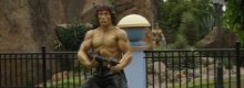The ultimate in Rambo fancy dress