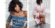 Rihanna is the new face for Balmain's Spring/Summer 2014 ad campaign