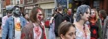 Do-it-yourself zombie fancy dress