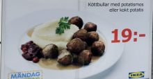 Horsemeat found in IKEA meatballs