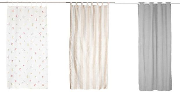 Curtain trends for autumn winter 2014 2015 zara home and ikea - Zara home cortinas rebajas ...