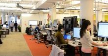 Facebook offices designed by Frank Gehry in New York | Photo Gallery