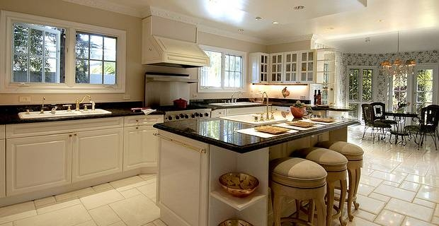 American kitchen designs on a british budget for Kitchen designs american style