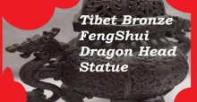 Feng Shui dragons placement