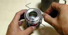 How to build a soda can stove
