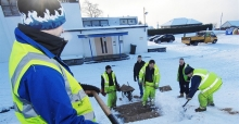 Snow shoveling jobs UK