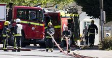 London firefighters reject job cuts plan