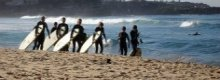 Surf the web for a holiday job in Newquay