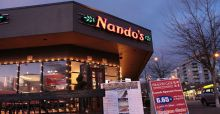 Nando's franchise cost in the UK