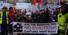 NHF survey reveals that two thirds of households hit by bedroom tax are in rent arrears