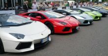 Lamborghini 50th Anniversary Grand Tour brings 350 supercars to Milan