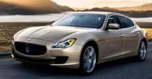 Maserati Quattroporte at the 2013 NAIAS in Detroit photo gallery