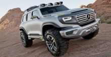 Mercedes Ener-G-Force Concept images - Photo Gallery