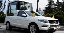 History of the Popemobile Photo Gallery