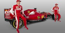 Ferrari presents its new car for 2015 Formula One season