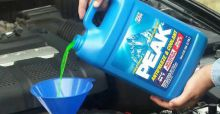 How to check coolant level