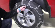 How to Put on Tyre Chains