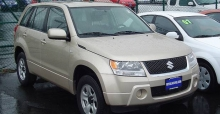 The 2012 Suzuki Grand Vitara