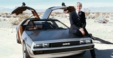 The story behind the DeLorean