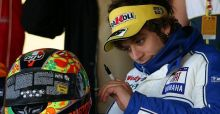Valentino Rossi motorcycle helmets