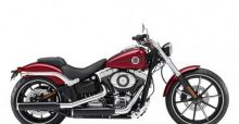 Harley-Davidson  breaks out the 2013 FXSB Breakout