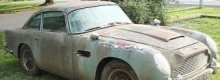 Aston Martin + 20 years + rust = £200,000