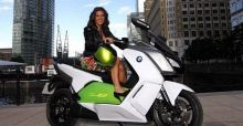 BMW to officially launch C Evolution maxi scooter at 2013 IAA Motor Show