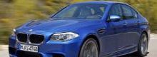 Sneak peak at the new BMW M5