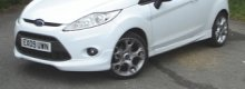 If you're looking for a Ford Fiesta Zetec alloy wheel you should buy online