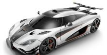 Koenigsegg One:1 the world's fastest road car