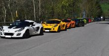 Italian Lotus Official Club meeting at Franciacorta race circuit