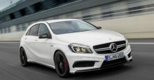 Mercedes A 45 AMG: the new range-topping A-Class