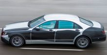 2013 Mercedes S-Class: new safety features