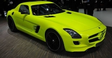 Mercedes SLS AMG E-CELL - The future of electric cars