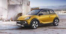 Vauxhall Adam Rocks: Official images released ahead of Geneva Motor Show 2014