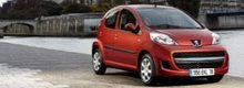Revised Peugeot 107 Offered for 2009