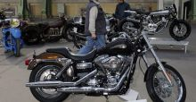 Pope Francis autographed Harley-Davidson auctioned off for more than 240,000 euros