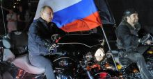 Vladimir Putin's ties to motorcycle club gets him almost banned in Finland