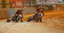 Brad Baker wins Superprestigio Dirt Track event, MotoGP champion Marc Marquez crashes