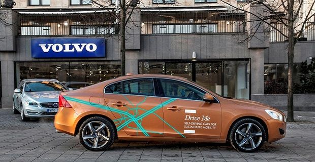 Volvo Self Drive Takes to Streets in Sweden